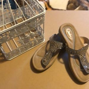 Italian sandal,little rhinestone